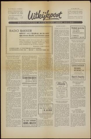 Uitkijkpost : nieuwsblad voor Heiloo e.o. 1958-03-27