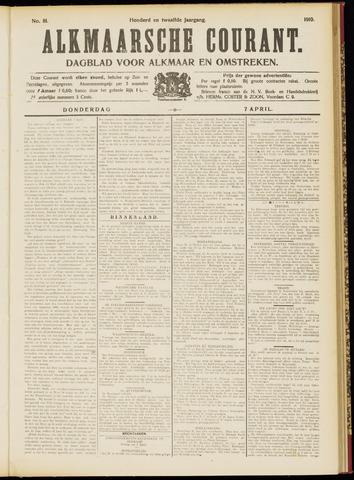 Alkmaarsche Courant 1910-04-07