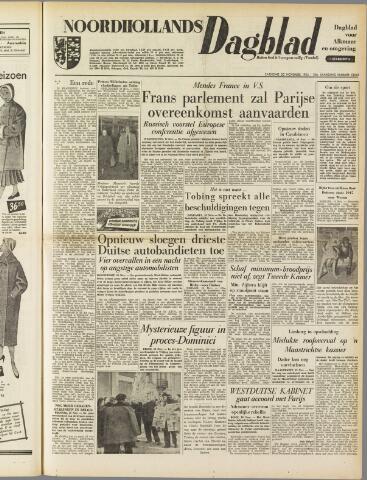 Noordhollands Dagblad : dagblad voor Alkmaar en omgeving 1954-11-20