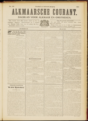Alkmaarsche Courant 1911-06-20