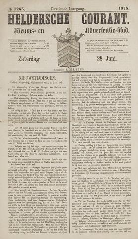Heldersche Courant 1873-06-28