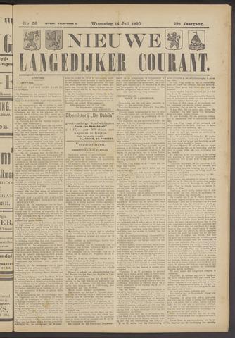 Nieuwe Langedijker Courant 1920-07-14