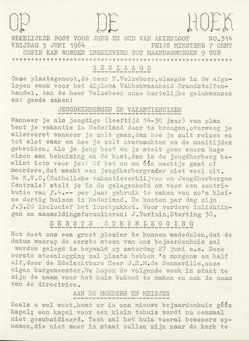 Op De Hoek, weekblad voor Akersloot 1964-06-05