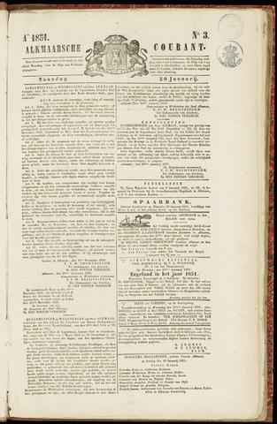 Alkmaarsche Courant 1851-01-20