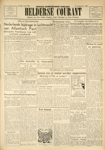 Heldersche Courant 1950-04-01