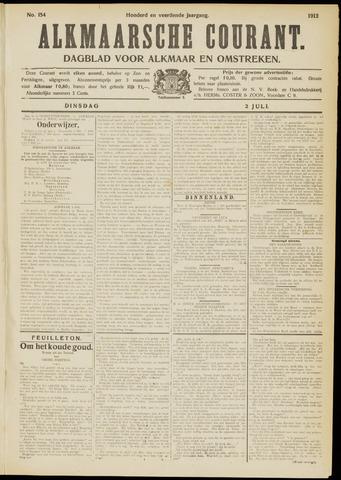 Alkmaarsche Courant 1912-07-02