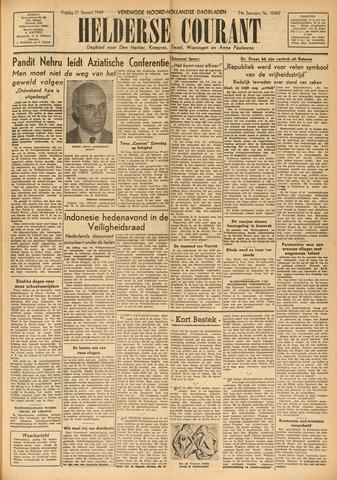 Heldersche Courant 1949-01-21