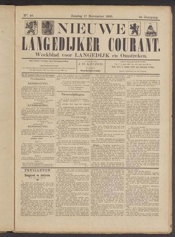 Nieuwe Langedijker Courant 1895-11-17