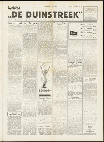 De Duinstreek 1958-07-04