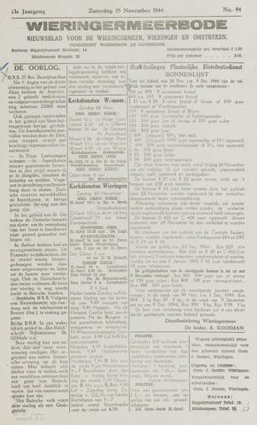 Wieringermeerbode 1944-11-25