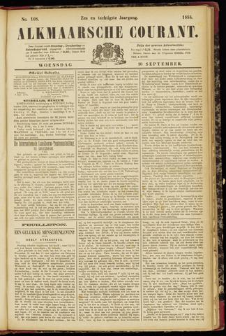 Alkmaarsche Courant 1884-09-10