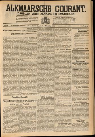 Alkmaarsche Courant 1934-10-18