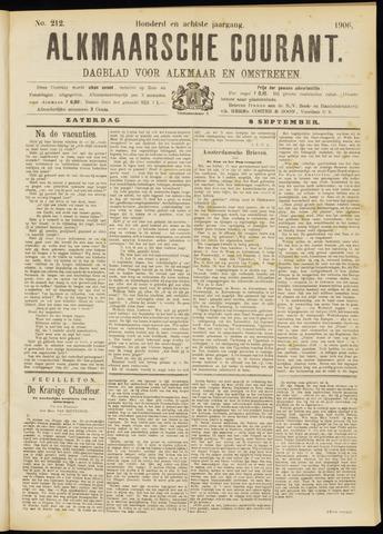 Alkmaarsche Courant 1906-09-08