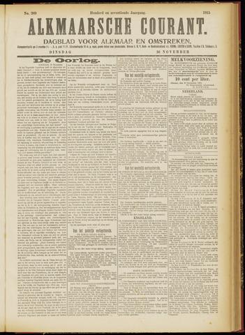Alkmaarsche Courant 1915-11-16