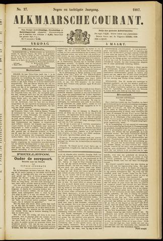 Alkmaarsche Courant 1887-03-04