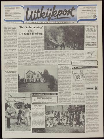 Uitkijkpost : nieuwsblad voor Heiloo e.o. 1992-08-12