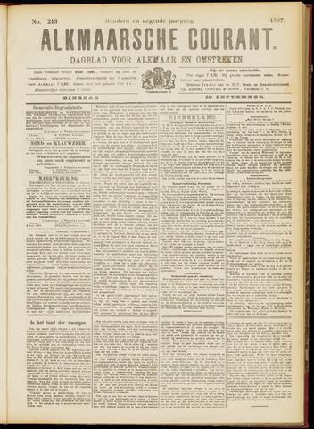 Alkmaarsche Courant 1907-09-10