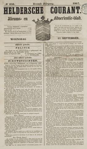 Heldersche Courant 1867-09-11