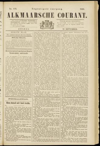 Alkmaarsche Courant 1888-09-23