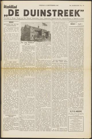 De Duinstreek 1947-09-12