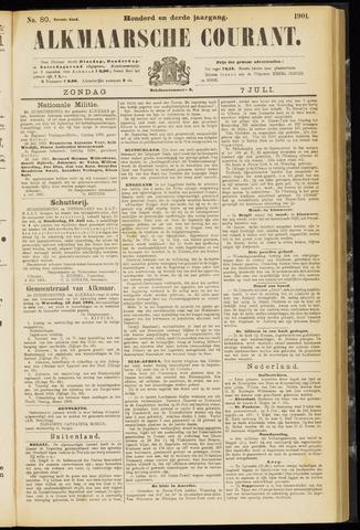 Alkmaarsche Courant 1901-07-07