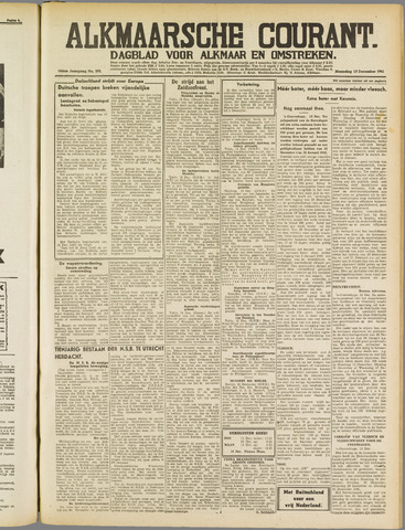 Alkmaarsche Courant 1941-12-15