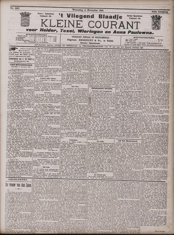 Vliegend blaadje : nieuws- en advertentiebode voor Den Helder 1903-11-11