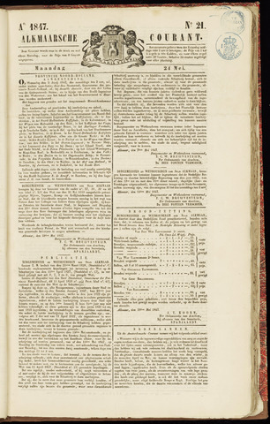 Alkmaarsche Courant 1847-05-24