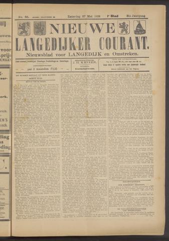 Nieuwe Langedijker Courant 1922-05-27