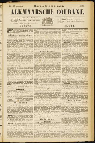 Alkmaarsche Courant 1898-06-12