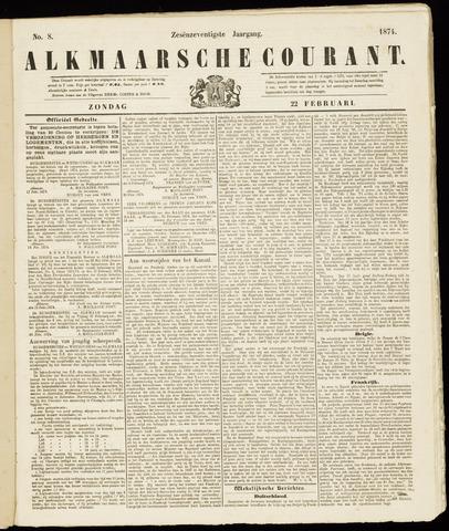 Alkmaarsche Courant 1874-02-22
