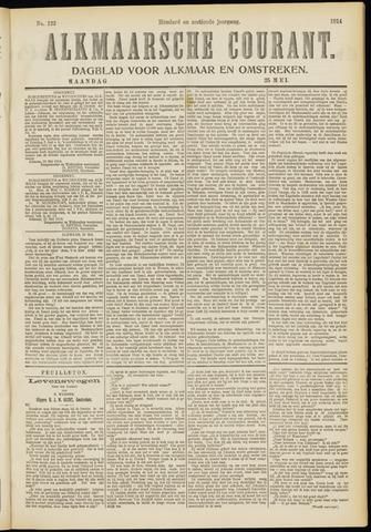 Alkmaarsche Courant 1914-05-25