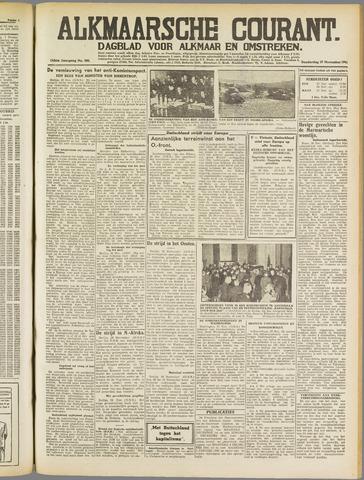 Alkmaarsche Courant 1941-11-27