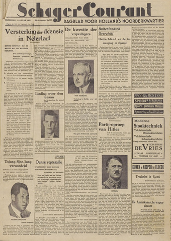 Schager Courant 1937