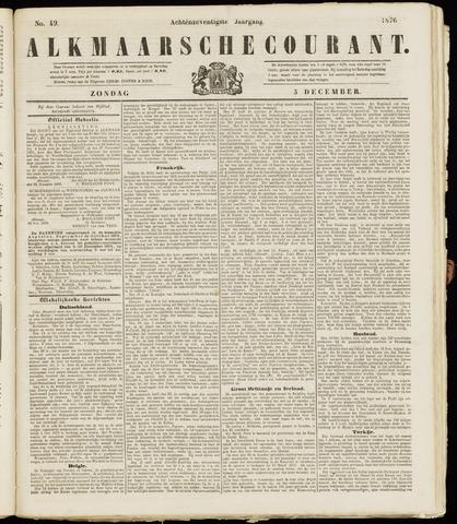 Alkmaarsche Courant 1876-12-03