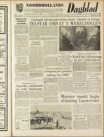 Noordhollands Dagblad : dagblad voor Alkmaar en omgeving 1962-07-24