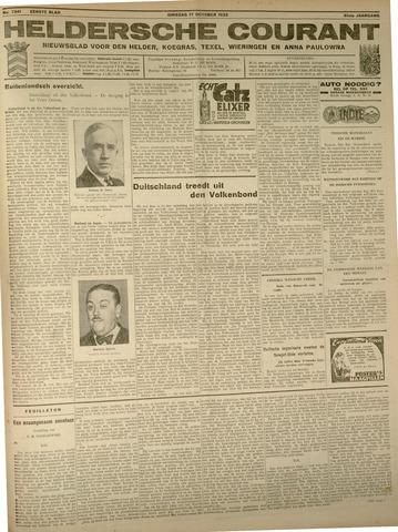 Heldersche Courant 1933-10-17