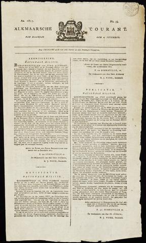 Alkmaarsche Courant 1817-12-29