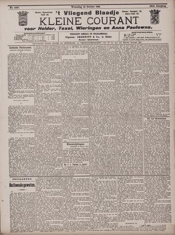Vliegend blaadje : nieuws- en advertentiebode voor Den Helder 1904-10-26