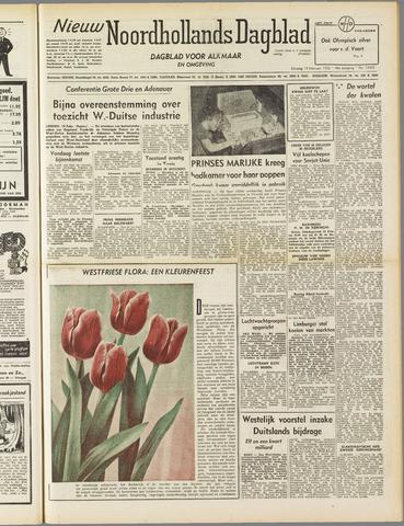 Nieuw Noordhollandsch Dagblad : voor Alkmaar en omgeving 1952-02-19