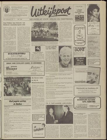Uitkijkpost : nieuwsblad voor Heiloo e.o. 1985-05-01