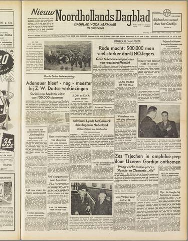 Nieuw Noordhollandsch Dagblad : voor Alkmaar en omgeving 1952-03-10