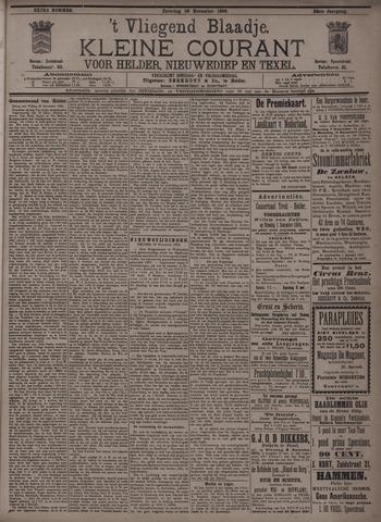 Vliegend blaadje : nieuws- en advertentiebode voor Den Helder 1896-11-28