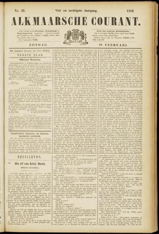 Alkmaarsche Courant 1882-02-19