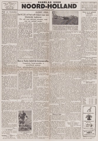 Dagblad Noord-Holland, Schager editie 1944-03-06