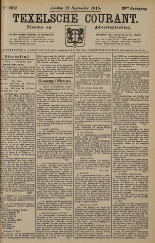Texelsche Courant 1915-09-12