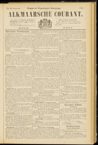 Alkmaarsche Courant 1897-07-18
