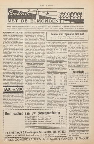 Contact met de Egmonden 1964-07-23