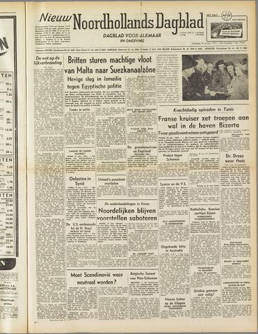 Nieuw Noordhollandsch Dagblad : voor Alkmaar en omgeving 1952-01-26