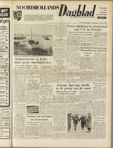 Noordhollands Dagblad : dagblad voor Alkmaar en omgeving 1954-01-09